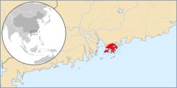 About Hong Kong: Location