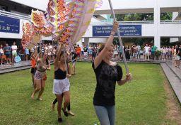 Orientation Week: Day 3 – Quan Cai Fair and Dancing in the rain