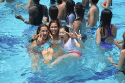 Orientation Week: Day 5 – Pool Games and Music Night