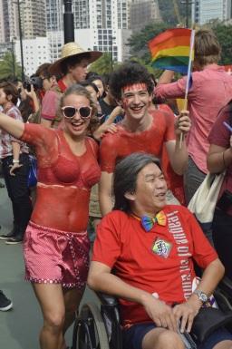 We stand for Love: Hong Kong Pride Parade