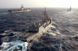Reception aboard a Turkish Navy Ship